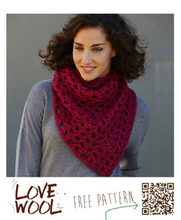 Scarf in Katia Love Wool