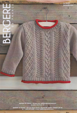 Sweater in Bergere de France Caline - 33689