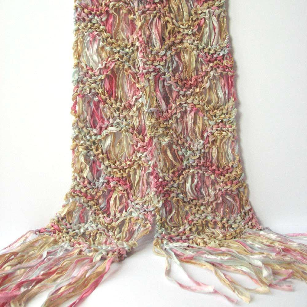 Ripple drop stitch scarf knitting pattern by steph thornton zoom bankloansurffo Images