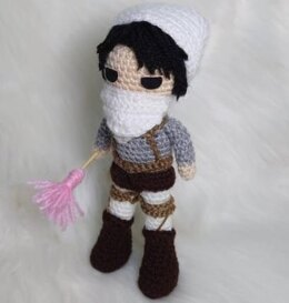 Cleaner Levi from Attack on Titan