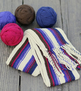 Charity Scarf in Berroco Comfort