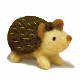 Dimensions Hedgehog Needle Felting Kit - 2.5in x 2.5in
