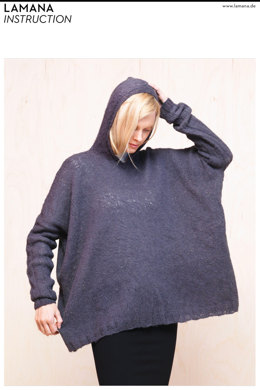 Hooded Sweater in Lamana Cusi - 02/15 - Downloadable PDF