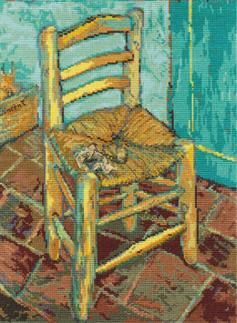 DMC Van Gogh's Chair Cross Stitch Kit - 23cm x 30.5cm