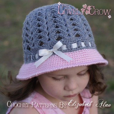 My Angel Baby Cloche Crochet Pattern By Elizabeth Alan Crochet