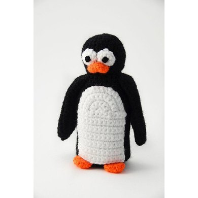 Penguin Crochet Pattern, Penguin Amigurumi Pattern