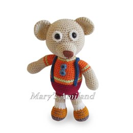 Amigurumi Sean Bear The Ami