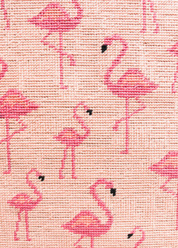 We Are Knitters Petit Point Flamingos Cross Stitch Kit