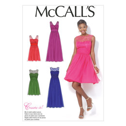 McCall's Misses'/Women's Dresses M7090 - Sewing Pattern