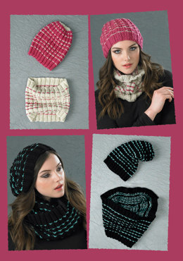 Ribbed Beanie Hat and Cowl in Stylecraft Special Chunky - 8766