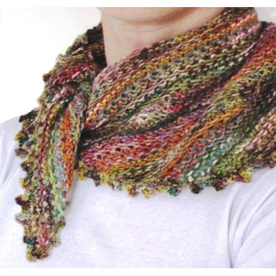 Odds And Ends Kerchief Knitting Pattern By Giddydavies Knitting