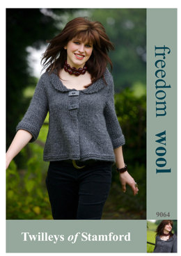 Swing Jacket in Twilleys Freedom Wool - 9064