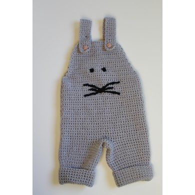 Baby Dungaree Mouse Crochet Pattern By Maschen Mit Liebe