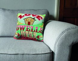 DMC Love Dwells Here Tapestry Cushion Front Kit