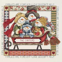 Janlynn Families are Forever Cross Stitch Kit