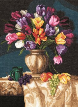 Janlynn Corporation Joy of Spring Cross Stitch Kit