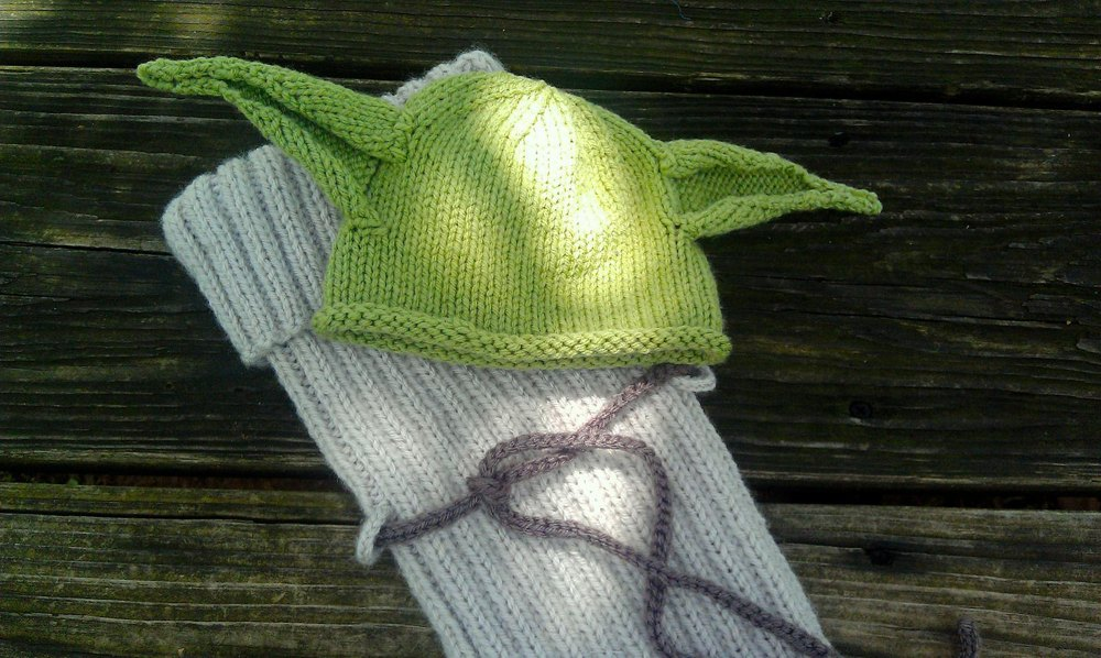Little Yoda Hat and Bunting set Knitting pattern by Kristy ...