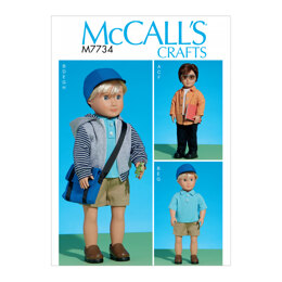 "McCall's Clothes For 18"" Doll M7734 - Sewing Pattern"