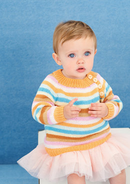 Sweaters and blankets in Rico Baby Cotton Soft DK - 399 - Downloadable PDF