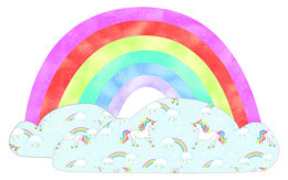 Michael Miller Fabrics Over The Rainbow Pillow - Downloadable PDF