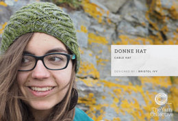"""Donne Hat by Bristol Ivy"" - Hat Knitting Pattern in The Yarn Collective"