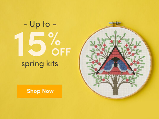 Up to 15 percent off spring kits!
