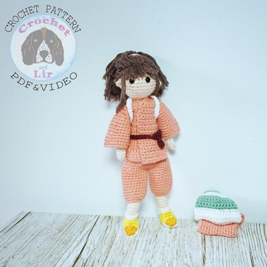 Spirited Away inspired Chihiro Doll UK terms