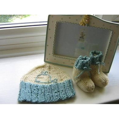 Little Whale Baby Hat