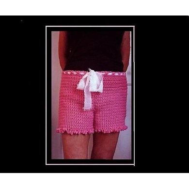 578 CROCHET SHORTS, any size baby to plus size