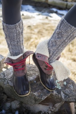 Corker Socks in Berroco Inca Tweed - 346-5