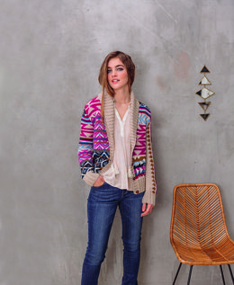 Marlene Cardigan in Phildar Phil Sport - Downloadable PDF