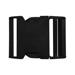 Elan Large 50mm Buckle - Black