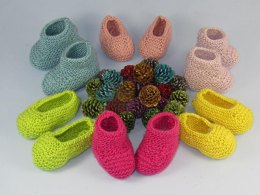 Really Easy Baby Booties and Slippers