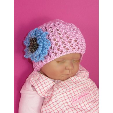 Baby Lacey Flower Skullcap