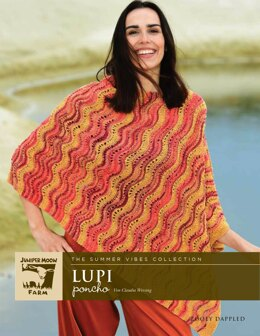 The Summer Vibes Collection Lupi Poncho aus Juniper Moon Farm Zooey - 16669 - Downloadable PDF