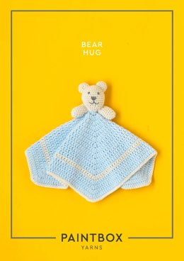 """Bear Hug"" - Free Baby Accessory Crochet Pattern in Paintbox Yarns Baby DK-2"