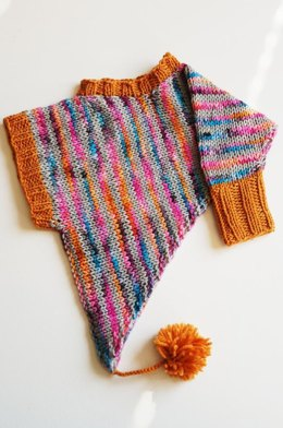 Free Cape & Poncho Knitting Patterns   LoveCrafts