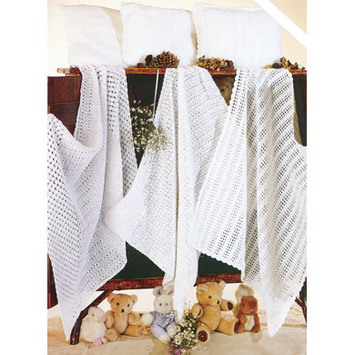 Crochet Blankets and Pillowcases in Sirdar Snuggly 2 Ply, 3 Ply and 4 Ply - 3761
