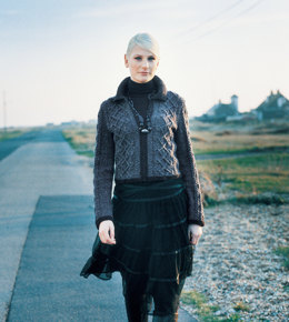 Celtic Cardigan in Rowan Felted Tweed