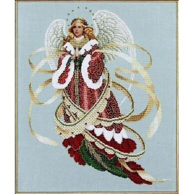Lavender & Lace Angel Of Christmas - LL39 -  Leaflet