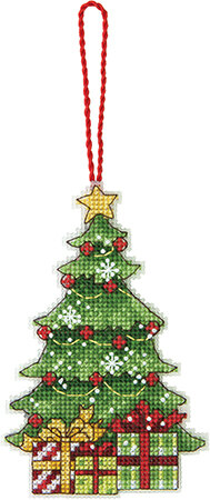 Dimensions Tree Ornament Cross Stitch Kit - 7.5cm x 12cm