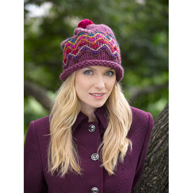 Slouch Hat in Lion Brand Wool-Ease Thick & Quick - L32108C