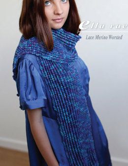 Wrap in Ella Rae Lace Merino Worsted - ER9-03 - Downloadable PDF