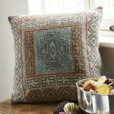 Mosaic Carpet Cushion