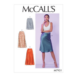 McCall's Misses' Skirts M7931 - Sewing Pattern