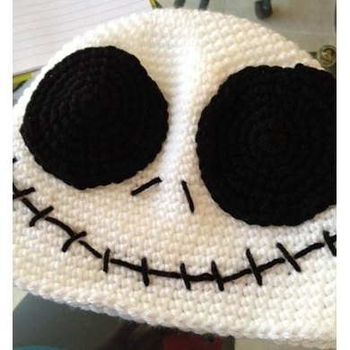Jack Skellington Beanie Crochet Pattern By Bizzy Crochet