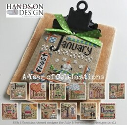 Hands On Design A Year Of Celebrations - HD167 -  Leaflet
