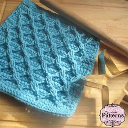 Diamond Cable Dishcloth