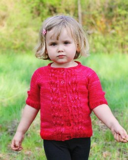 Mini Rock Rose Cardigan