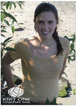 Carolina Top by Knit One Crochet Too Pediwick - 1874 - Downloadable PDF